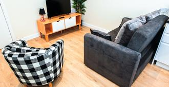 Approved Serviced Apartments Stanley Street - Manchester - Wohnzimmer