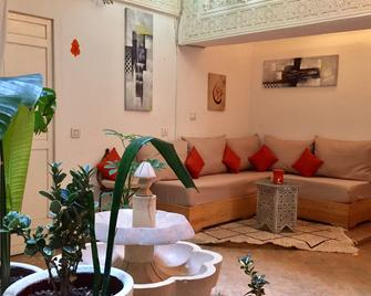Riad Orange Cannelle - Essaouira - Living room