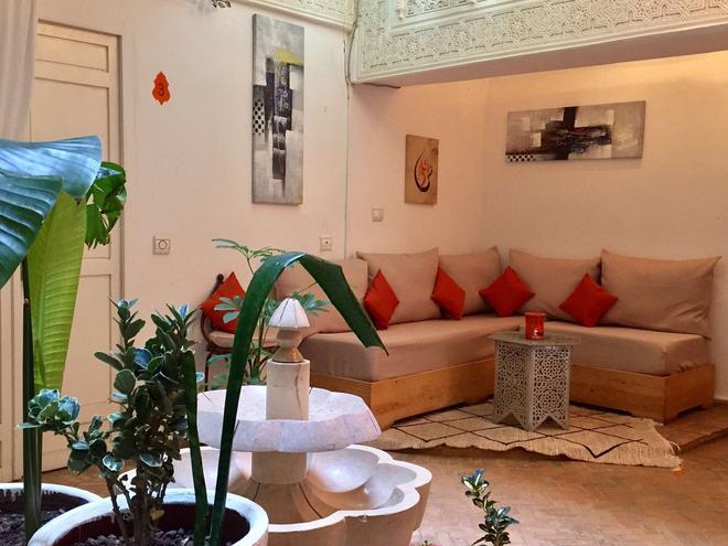 Riad Orange Cannelle - Essaouira - Living room