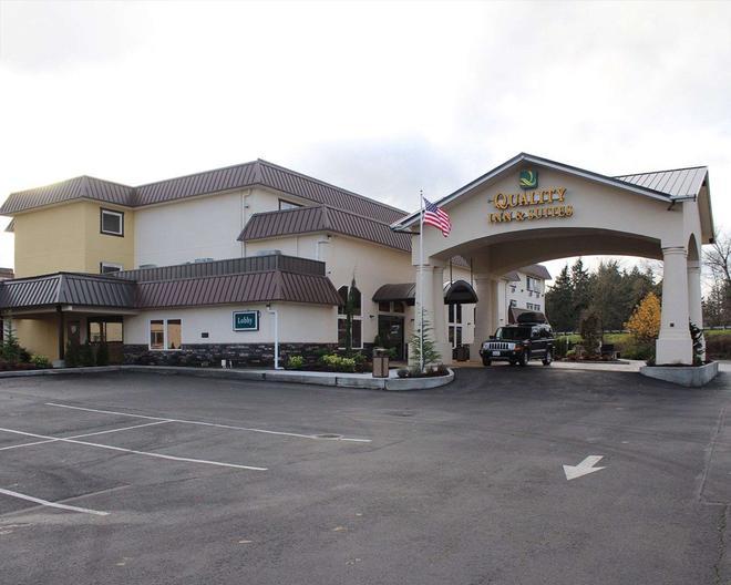 Quality Inn & Suites Tacoma - Seattle - Tacoma - Rakennus