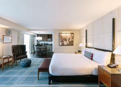 โรงแรมเดอะชาร์ลส์ - เคมบริดจ์ - ห้องนอน