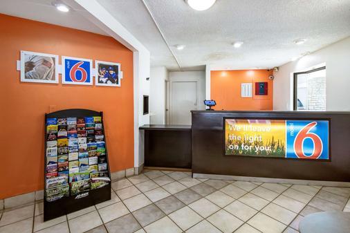 Motel 6 Dayton Englewood - Dayton - Vastaanotto