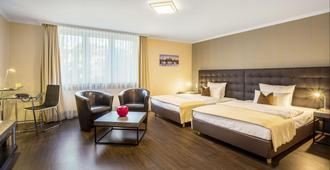 Villa Westend Hotel an der Messe GmbH - פרנקפורט אם מיין - חדר שינה