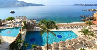 Las Torres Gemelas Acapulco - אקפולקו - בריכה