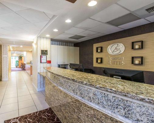 Comfort Suites Palm Desert I-10 - Palm Desert - Front desk