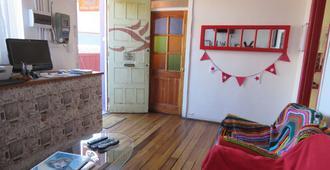 Hostal Mirenart - Valparaíso - Living room