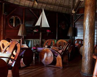 Princesse Bora Lodge & Spa - Ile Sainte-Marie - Huiskamer