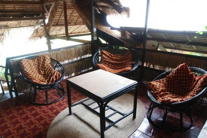 Paradise Eco Resort - Siem Reap - Ciudad de Siem Riep - Balcón