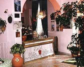 Hotel Villa Bellavista - Praiano - Front desk