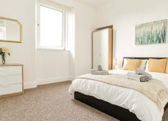 Modern Central Apartment - Aberdeen - Habitación
