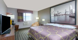 Super 8 by Wyndham Youngstown/Austintown - Youngstown - Bedroom