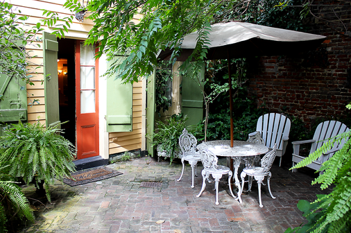 The Olivier House Hotel - New Orleans - Patio