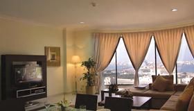 Sea Scene Hotel Apartments - Manama - Wohnzimmer