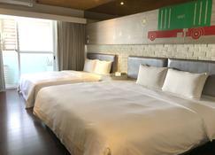 آر 8 إكو هوتل - مدينة كاوهسيونغ - غرفة نوم