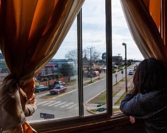 Punto Rojo Hostel - Pichilemu - Balcony