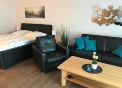 Steiner Strandappartements Appartement 104 Seeseite - شتاين - غرفة معيشة
