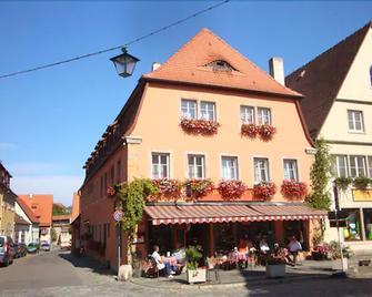 Hocher Hotel & Cafe - Ротенбург-об-дер-Таубер - Здание