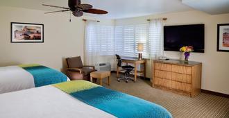 PB Surf Beachside Inn - San Diego - Bedroom
