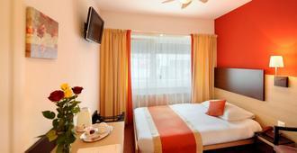 Hôtel Bon Port - Montreux - Camera da letto