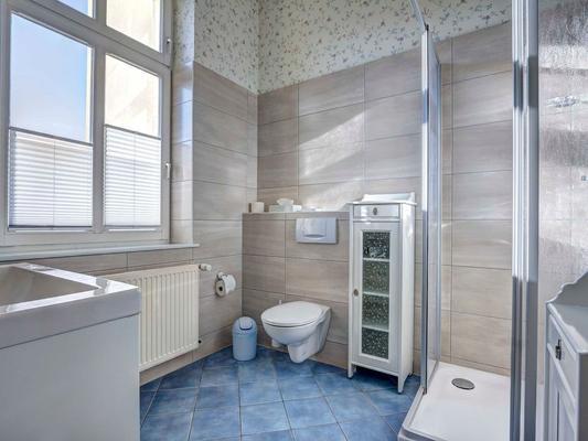 Hotel Villa Seeschlößchen - Heringsdorf - Bathroom