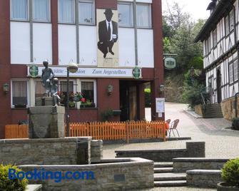 Pension Zum Angestellten - Porta Westfalica - Gebouw
