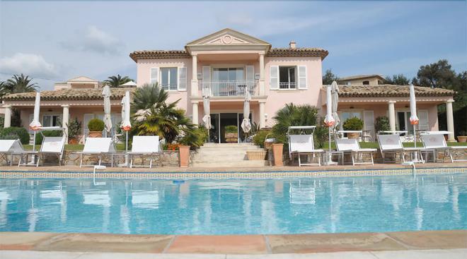 Hôtel Villa Les Rosiers - Sainte-Maxime - Pool