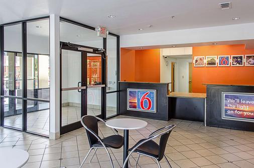 Motel 6 Biloxi - Ocean Springs - Biloxi - Vastaanotto