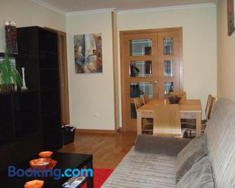Apartamento en 1ª línea de la Playa de Covas - Viveiro (Lugo) - Viveiro - Living room
