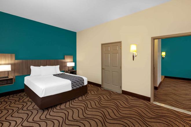 米德蘭北拉昆塔旅館及套房酒店 - 米德蘭 - 米德蘭(德克薩斯州) - 臥室