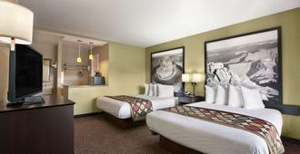 Super 8 By Wyndham Conference Center Nau/Downtown - Flagstaff - Bedroom