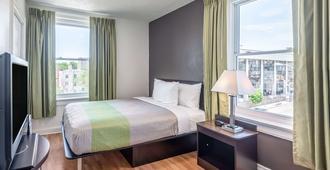 Quality Inn and Suites Kansas City Downtown - קנזס סיטי - חדר שינה