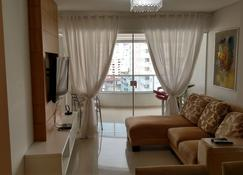 Apartamento Dalpiaz - Balneário Camboriú - Σαλόνι