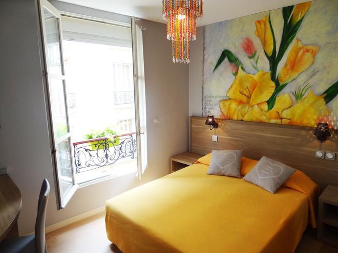 愛美麗酒店 - 巴黎 - 巴黎 - 臥室