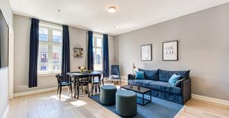 Forenom Serviced Apartments Schous Plass - Oslo - Olohuone
