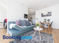 V7 Boutique Appartements - Freiburg im Breisgau - Wohnzimmer
