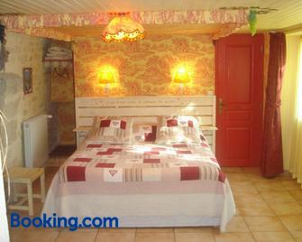 locastillon - Castillon-du-Gard - Bedroom