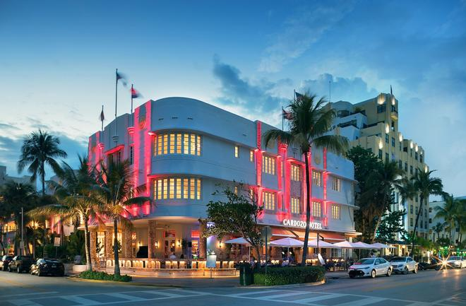 Cardozo Hotel - Miami Beach - Building