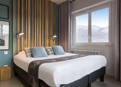 Hôtel Beauregard, The Originals Relais (Inter-Hotel) - Sévrier - Schlafzimmer