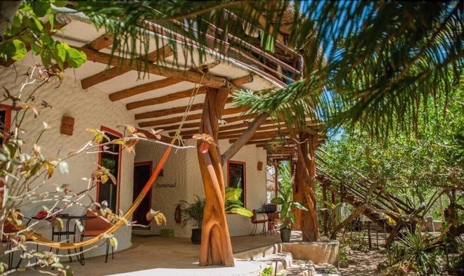 Villa Los Mangles Apartments - Holbox - Patio