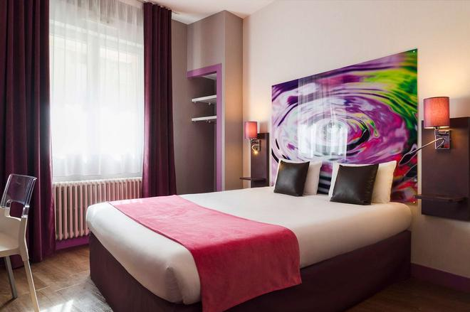 The Originals City, Hôtel le Saint-Martial, Limoges (Inter-Hotel) - Λιμόζ - Κρεβατοκάμαρα