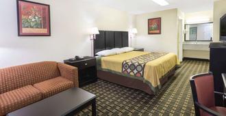 Super 8 by Wyndham Decatur/Lithonia/Atl Area - Decatur - Bedroom