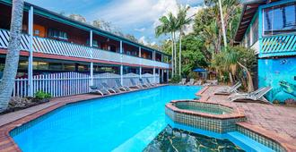 Arts Factory Lodge - Byron Bay - Piscina