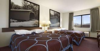 Super 8 by Wyndham Danville - Danville - Bedroom