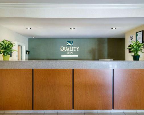 Quality Inn - Newark - Front desk