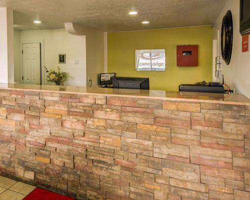 Econo Lodge East - Albuquerque - Vastaanotto