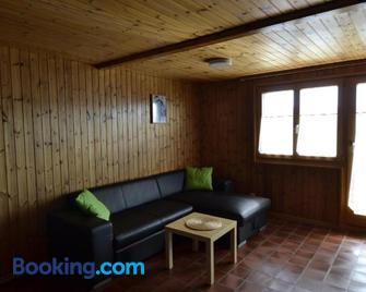 Appartmenthaus Bergfreund - Fiesch - Wohnzimmer