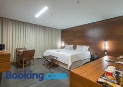 Hotel Gran Odara - Cuiabá - Bedroom