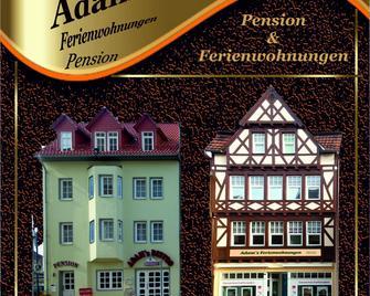 Adams Pension Und Ferienwohnungen - Mühlhausen - Building