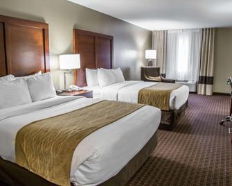 Comfort Inn & Suites Riverview - Le Claire - Slaapkamer