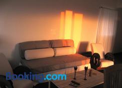 Casa Atlantida - Fajã Grande - Sala de estar